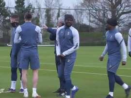 Il Tottenham è pronto per l'Europa League. Dugout