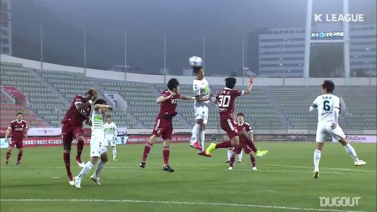 Gols da 2ª rodada da K-League de 2020. DUGOUT