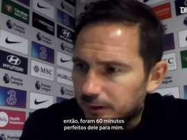 Lampard elogia estreia de Thiago Silva no Chelsea. DUGOUT