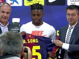 Les meilleurs moments d'Alex Song à Barcelone. DUGOUT