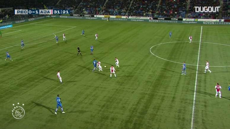 VIDÉO: Le joli but de Frenkie de Jong contre le PEC Zwolle. Dugout
