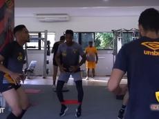 Sport treina firme de olho no duelo contra o Fluminense. DUGOUT