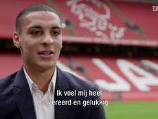 Antony se diz ansioso para estrear pelo Ajax. DUGOUT