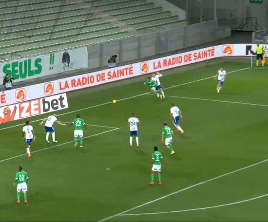 Le premier but de Mahdi Camara en Ligue 1. Dugout