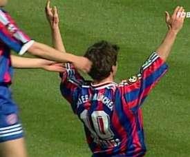 Le but superbe de Lothar Matthäus contre le Fortuna Düsseldorf. DUGOUT