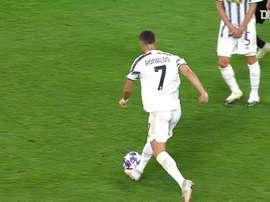 Golaço de Cristiano Ronaldo contra o Lyon na Champions. DUGOUT