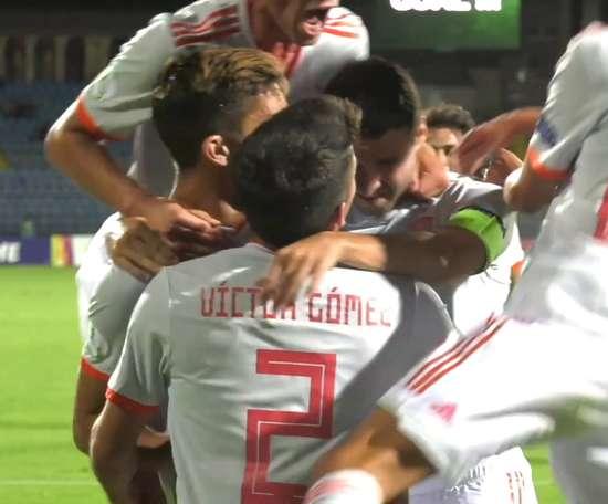 Ferran Torres dio el título a España Sub 19. DUGOUT