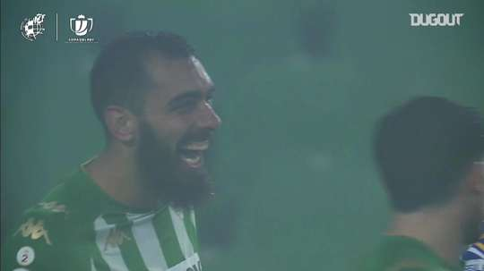 Borja Iglesias scored twice in extra-time as Betis beat Real Sociedad in extra-time. DUGOUT