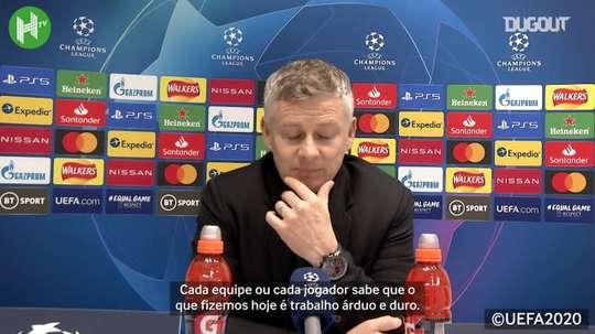 O Manchester United de Solskjaer é o 15ª no Inglês, com sete pontos em cinco jogos. DUGOUT