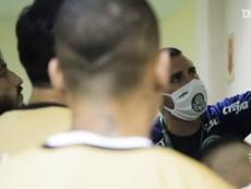 La conjura de Palmeiras antes de ser finalista de la Libertadores. Captura/DUGOUT