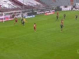 Müller y Lewandowski volvieron a combinar. DUGOUT