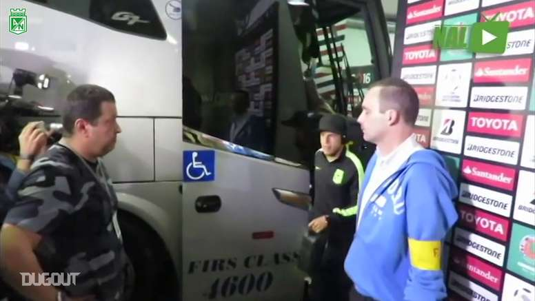 Bastidores do jogo válido pela semifinal da Libertadores de 2016.  DUGOUT