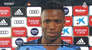 Vinicius voltou a marcar nesta quarta-feira. DUGOUT