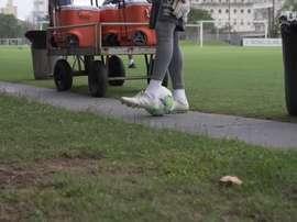 Santos faz último treino antes de viagem a Fortaleza. DUGOUT