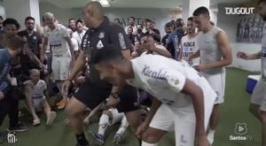 VIDÉO: Les célébrations de Santos après la victoire contre Boca Juniors. Dugout