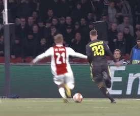 Le meilleur de Frenkie de Jong à l'Ajax. DUGOUT