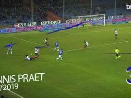 Sampdoria's best goals against Bologna. DUGOUT