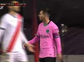 VIDÉO: Les buts de Barcelone contre le Rayo Vallecano. Dugout