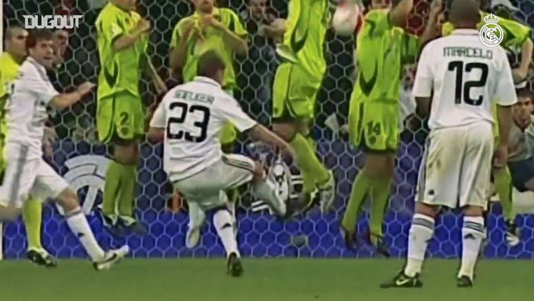Il meglio di Sneijder al Real. Dugout