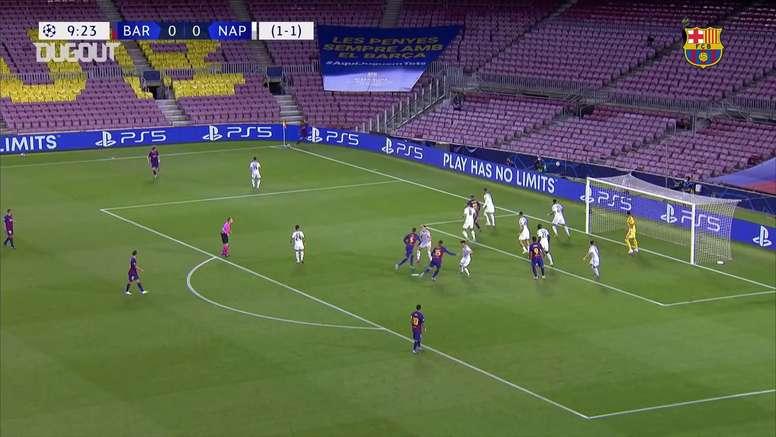 Il Barça ha superato il Napoli agli ottavi. Dugout
