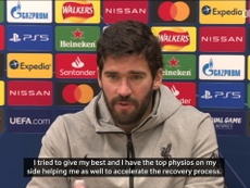 Alisson: We will miss Virgil van Dijk but we will not change our style. DUGOUT