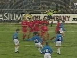 Le titre en Coupe d'Italie de la Sampdoria en 1994. DUGOUT
