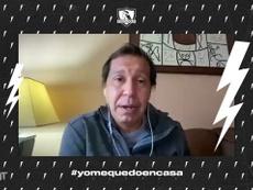 Herrera habló de la final del 91 ante Olimpia. DUGOUT