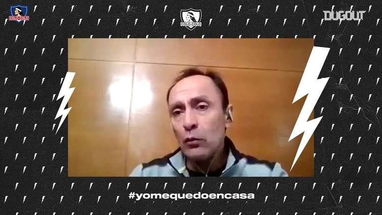 VÍDEO: Jaime Pizarro recordó la figura de Mirko Jozic. Captura/Dugout