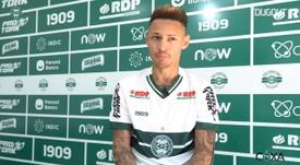 Neilton, novo jogador do Coritiba, fala sobre expectativas. DUGOUT
