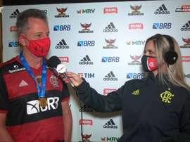 Presidente do Flamengo elogia transmissão da final do Carioca. DUGOUT