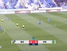 Ulsan 0-1 Jeonbuk: Modou Barrow sends Jeonbuk top ahead of final round. DUGOUT