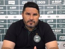Eduardo Barroca vibra com campanha do Coritiba no Paranaense. DUGOUT