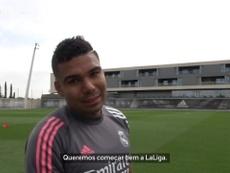 Casemiro avalia primeiros dias de pré-temporada do Real Madrid. DUGOUT