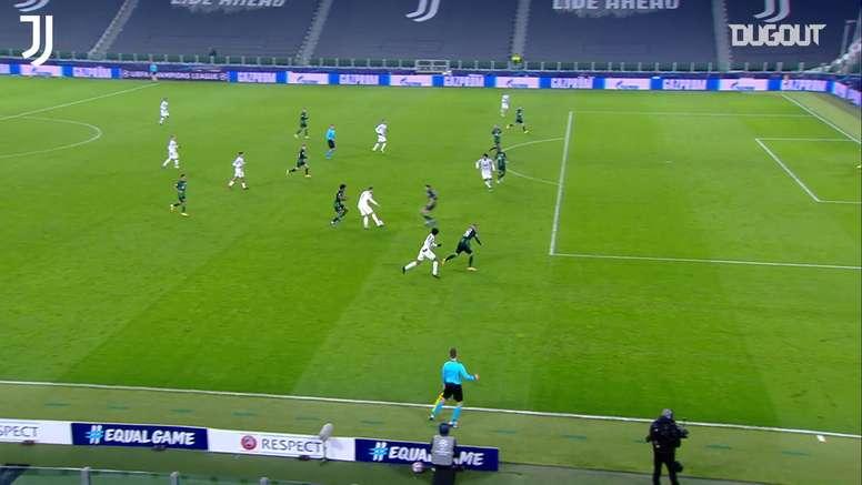 Résumé Juventus 2-1 Ferencvaros. dugout