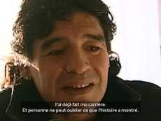 Maradona évoque Messi. DUGOUT