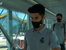 Real Madrid have arrived in Barcelona for Sunday's clash at Espanyol. DUGOUT