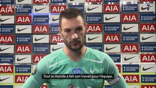 Lloris évoque la victoire des Spurs. VIDÉO
