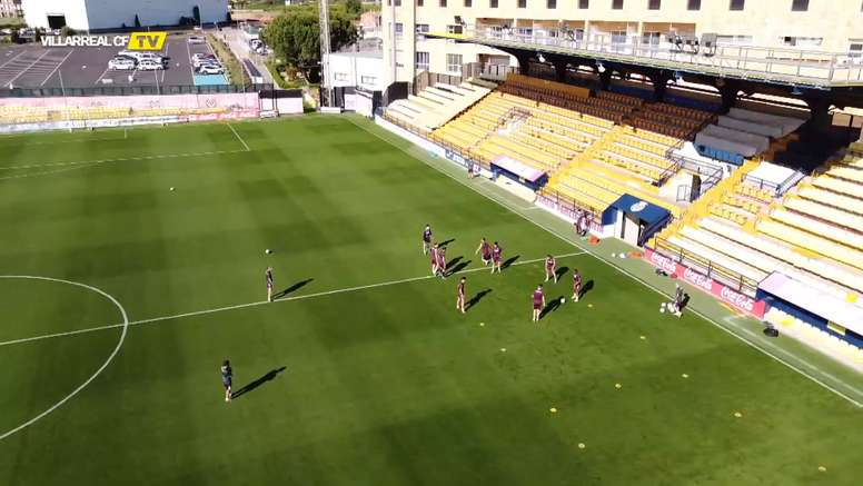 VIDEO: The return of the rondo at Villarreal. DUGOUT