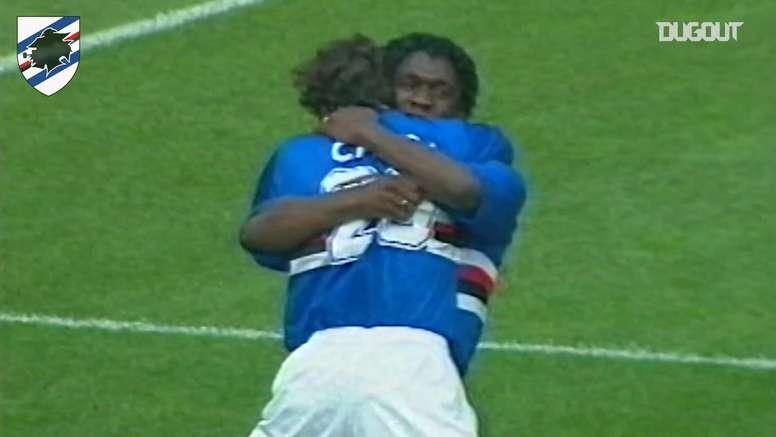 Seedorf beffò la Juve con la maglia blucerchiata. Dugout