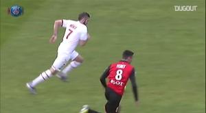VIDÉO : le but de Menez face à Rennes en 2013. Dugout