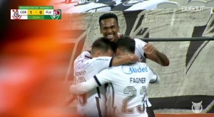 Corinthians thumped Fluminense 5-0 in the Brasileirao. DUGOUT