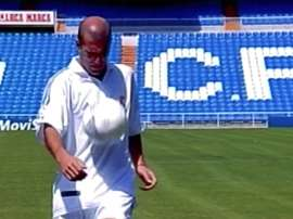 Le reti più belle di Zidane. Dugout