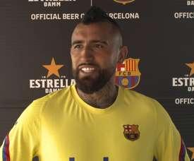 Vidal fala sobre volta da LaLiga. DUGOUT