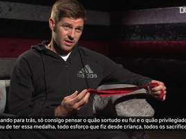Gerrard relembra essa mítica Champions de 2005. DUGOUT