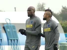 Inter de Milão finaliza preparação para duelo contra Mönchengladbach. DUGOUT