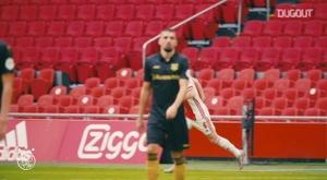 Davy Klaassen made his second Ajax debut last Sunday. DUGOUT