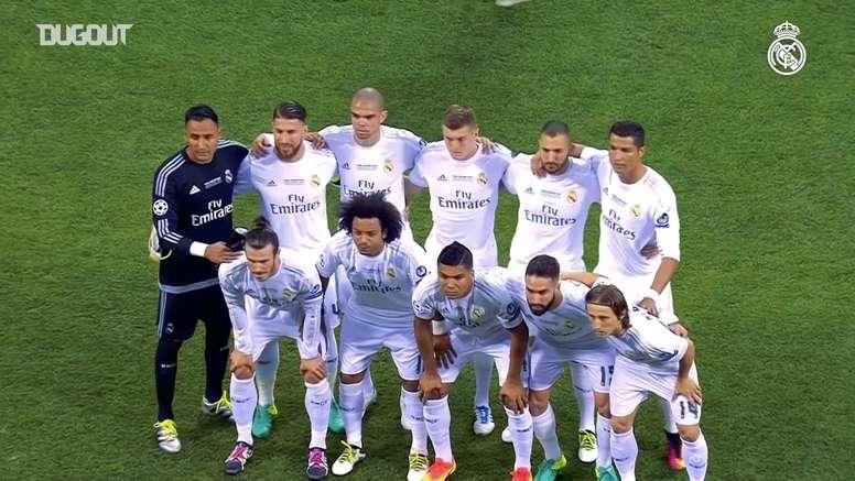 El 28 de mayo de 2016 el Real Madrid ganó su undécima Copa de Europa. Dugout