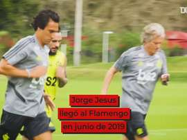 El increíble periplo de Jorge Jesus en Flamengo. DUGOUT
