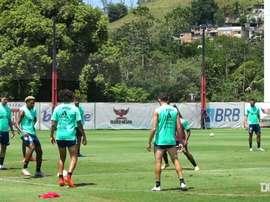 Flamengo está pronto para enfrentar o J. Barranquilla. DUGOUT