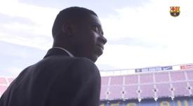 Ousmane Dembélé completa três anos no Barça. DUGOUT